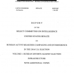 Senate Intel Report On Election Interference - RussianProbe.com